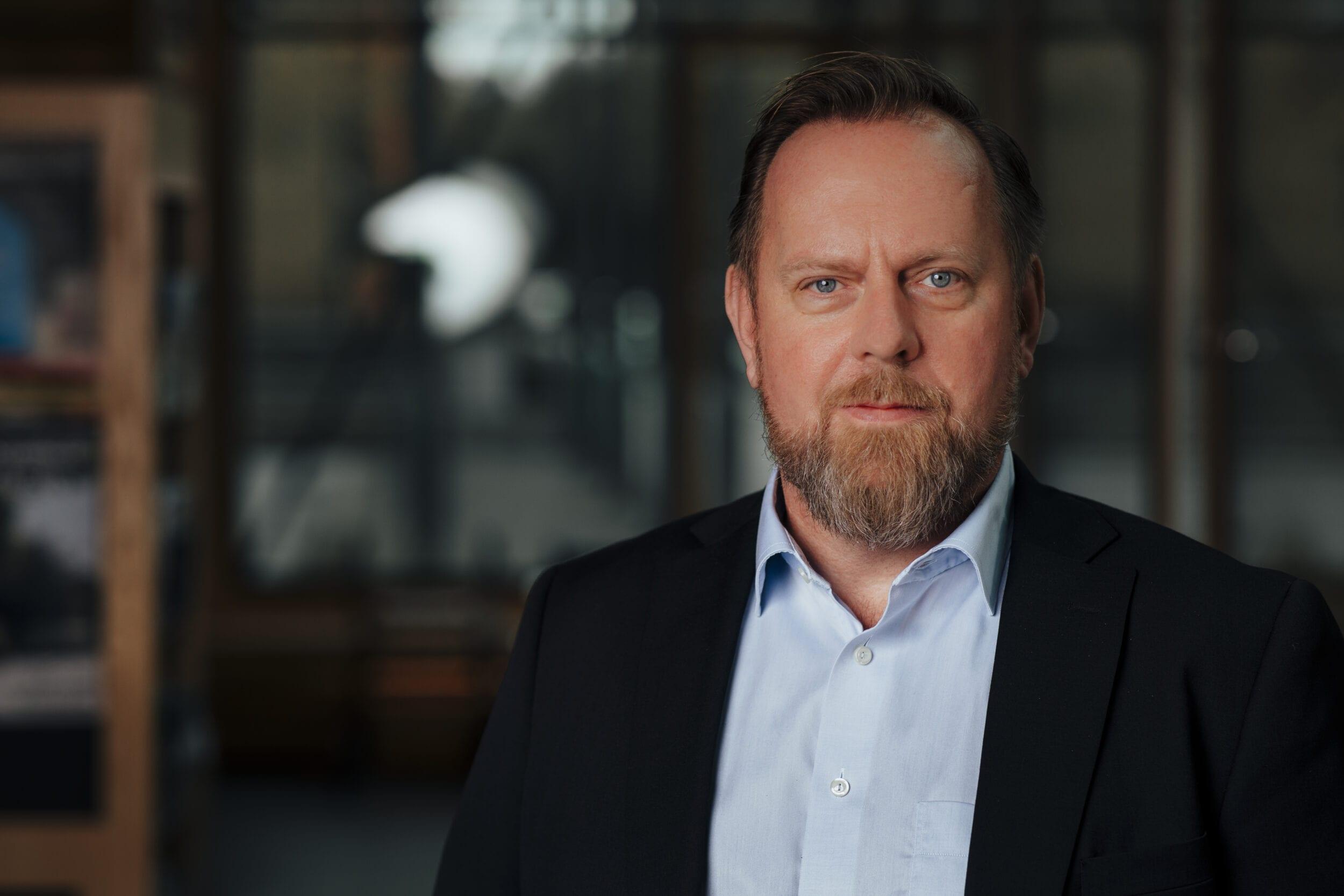 Fredrik Lindblad. Foto: Alexander Hall